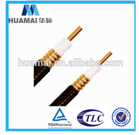 Nanjing OEM /ODM RF Coaxial Feeder Cable 1/2 or 7/8 Super Flex Feeder Cable