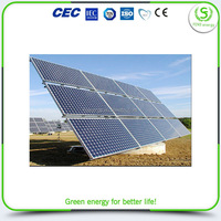 Factory made hot sale green power solar panel 100w