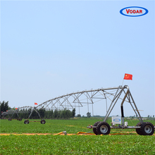 VODAR Four Wheel Cart Canal Feed Lateral Move Irrigation System