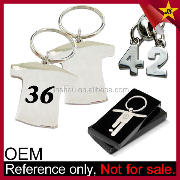 Wholesale World Cup 2014 Jersey Number Keychain