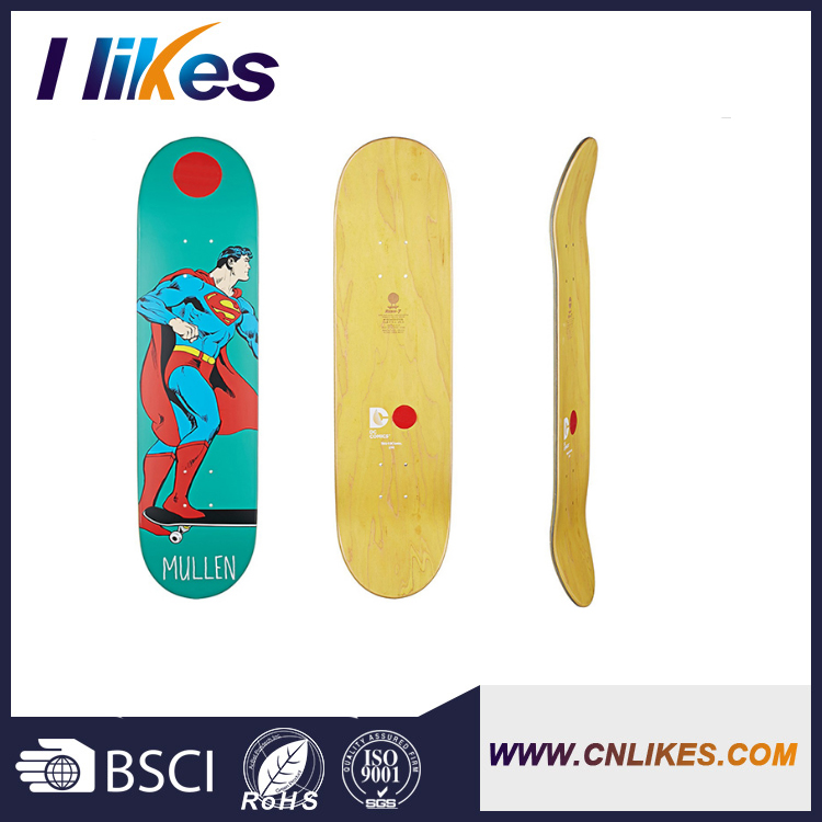 promotional canadian maple wood uncut skateboard decks
