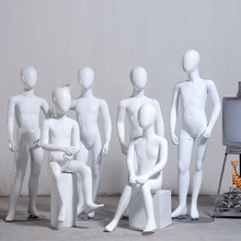 Frp, fiberglass material and stand style children mannequin