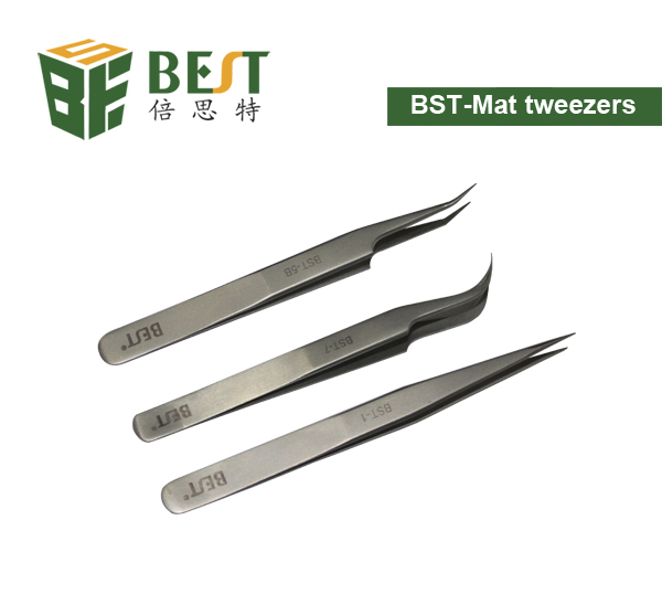 BEST- Tangle/Curved Tweezers for Electronic