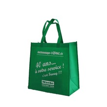 Eco-friendy Glossy Material Shopping Luxury Plastic Pp Tnt Customized Laminated Non Woven Bag