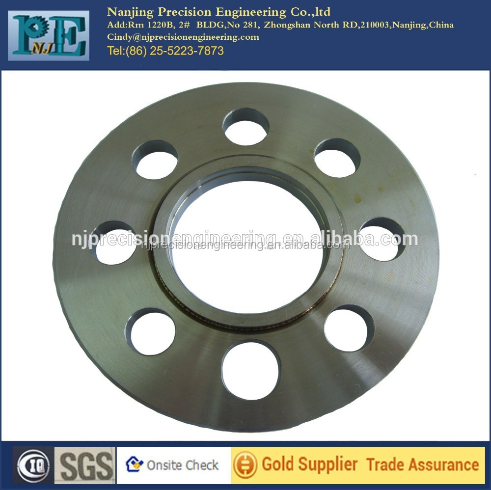 Custom stainless steel forged <strong>flange</strong>