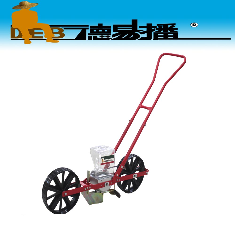 low maintenance 1 row manual type vegetable planter/onion corn seeder