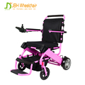 professional manufacturer Folding light weight power wheelchair with lithium battery
