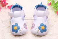 Spring/summer new style wholesale Baby girl cute flower shoes