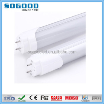 Highly recommended high quality uv light tube led t8 LED tube