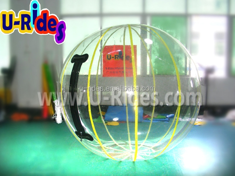 Inflatable Floating Water Running Ball With Streak