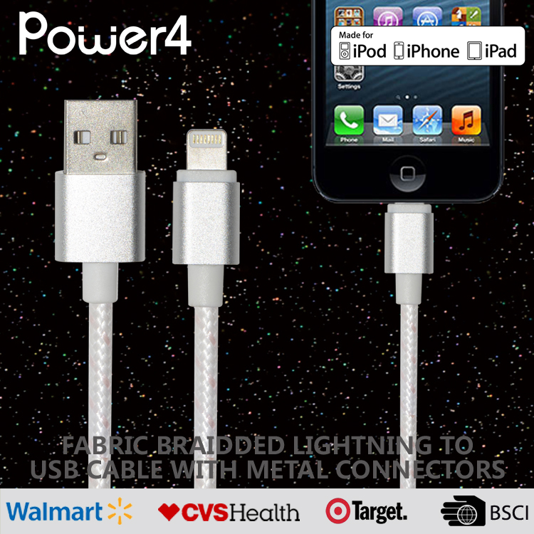 Top quality data cable 8pin fast charging usb cable for Apple iphone ipad with flashing connector