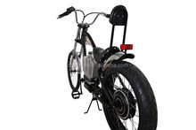 High capacity battery harley electrick chopper bike