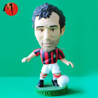 Custom Resin Mini Cartoon Soccer Player Sports Figure