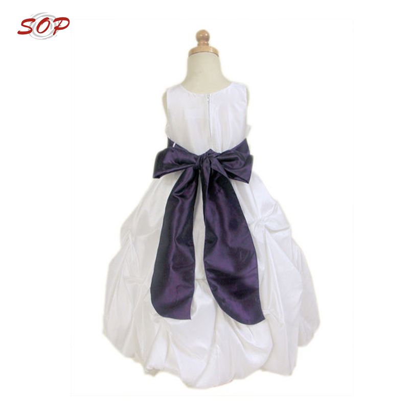 Children frocks design flower girls dresses fancy girl party wedding dress