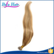 7A grade straight double drawn 100 cheap remy u tip hair extension wholesale