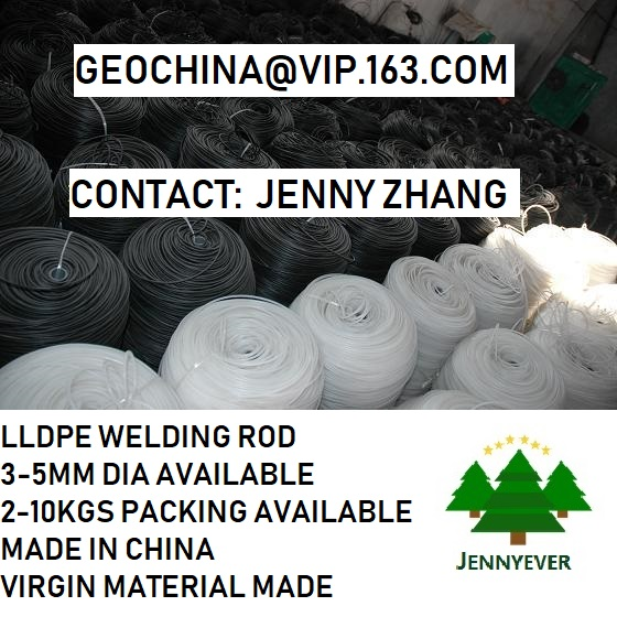 4mm HDPE welding rod 3-5mm hand extruder use PE soldering wire