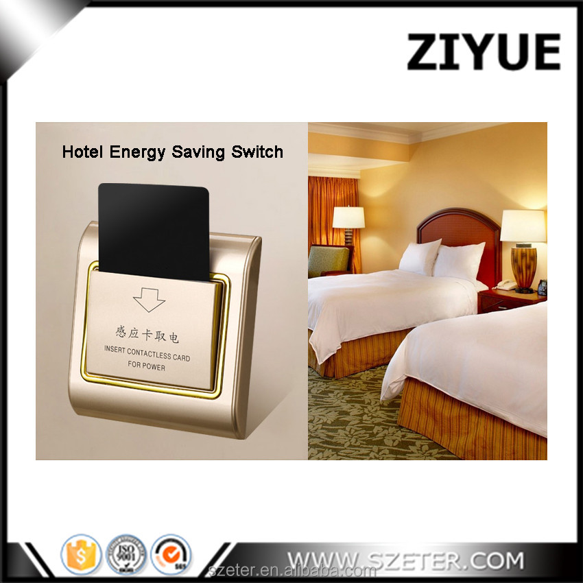 Energy saving switch for hotel key mouting switch box 86mm