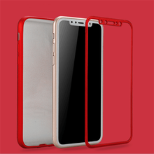 NEW Soft 360 case Full body cover flexiable rubber coated Silicone Case for iPhone X/Smooth silk touch 360 TPU case for iPhone 8