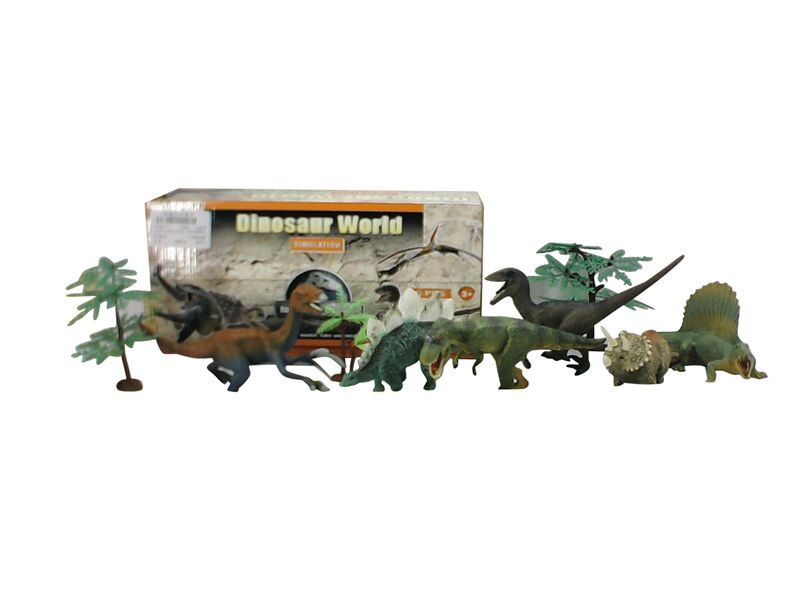 Wholesale Mini Animatronic Dinosaurs Models Set Dinosaur Toy For Kid