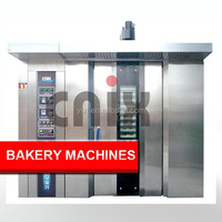 Gas Type 64Trays Industrial Baking Oven,Rotary Oven