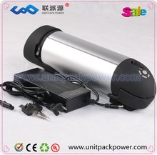 High quality lithium ion battery 36v 10ah electric bike li ion samsung battery 36v bottle battery with with controller box