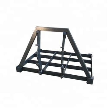 Land leveller for Agriculture equipment frontloader attachment