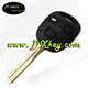 The lowest price car key for lexus smart key with 3 button remote key with 4D68 chip with 433mhz