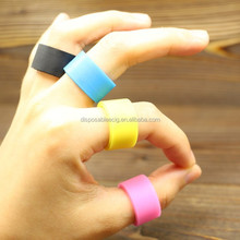 colorful wholesale non-slip adjustable ring silicone elastic bands