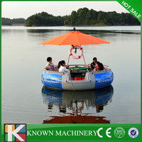 Hot sale commercial party boat for BBQ.Electric leisure fishing boat