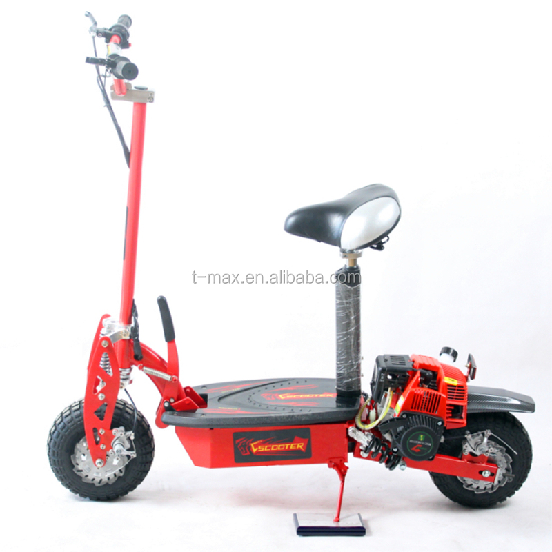 Chihui new 37cc 4 stroke cheap gas scooter with epa engine for Cheap gas motor scooters