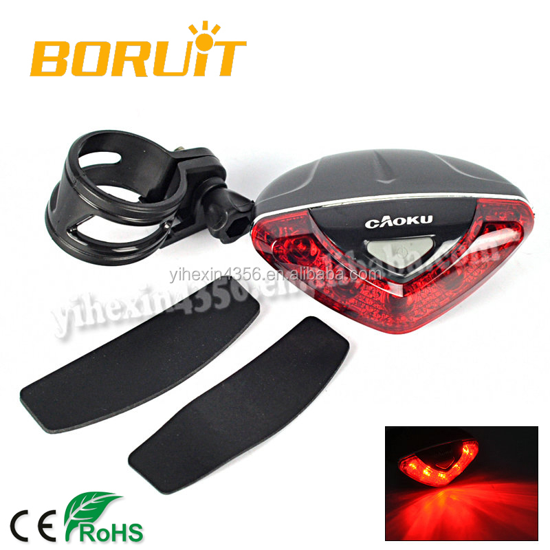 New LED Bicycle Mount Rear Light with RedLED Tail Light for Cycling Safety RJ-0089 (LD-208)