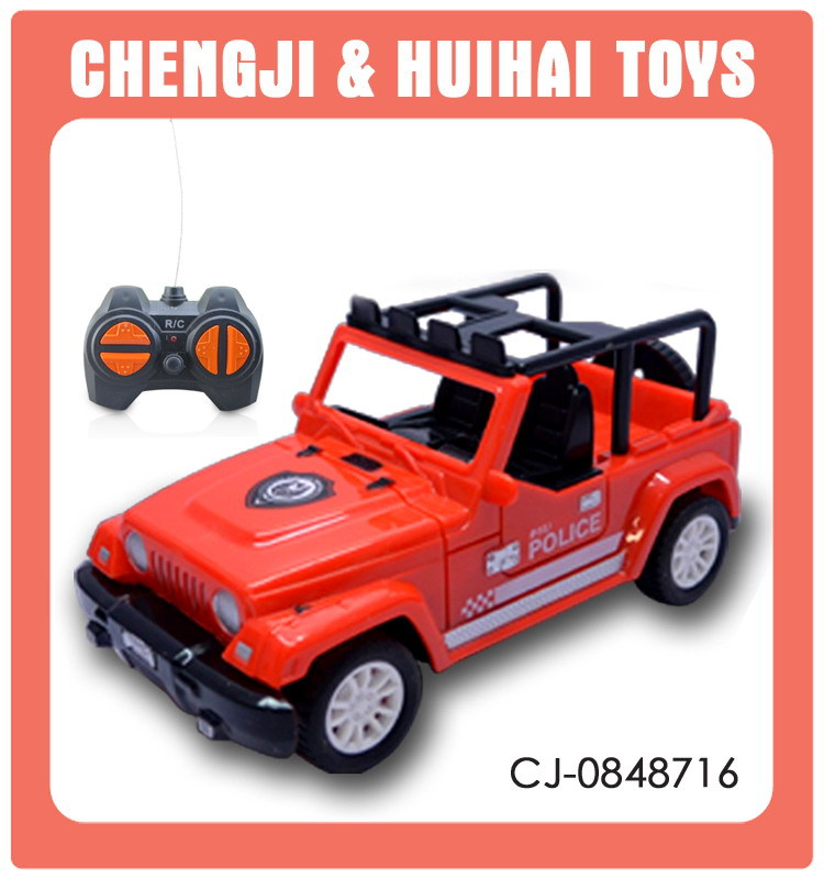 New arrive kids 1:32 plastic toy model rc jeep