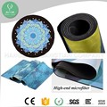 Exercise mat eco-friendly mats anti slip round mat