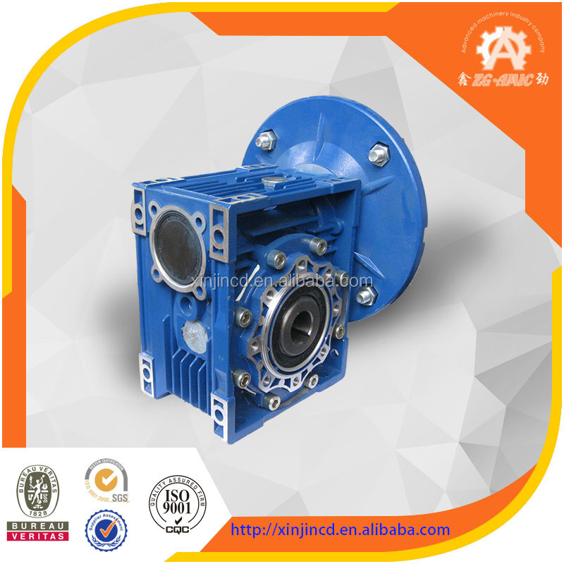 China supplier RV series fada marine gearbox with explosion proof motor