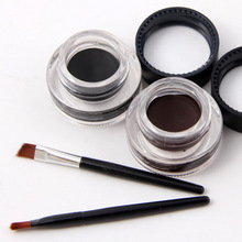 Double color waterproof eyeliner Gel for eye liner makeup cream