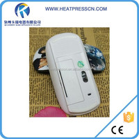 3d sublimation heat transfer blank optical wireless mouse