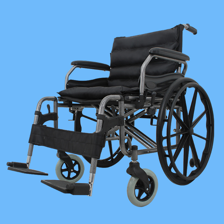 Maidesite aluminum folding bariatric wheelchair for hot sale