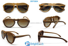 Designer wooden sunglasses ,italy design wood sunglasses with case
