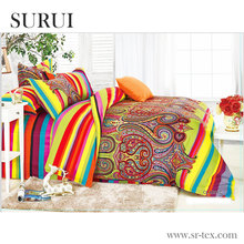 100% cotton printing bedding set fabric for Africa market