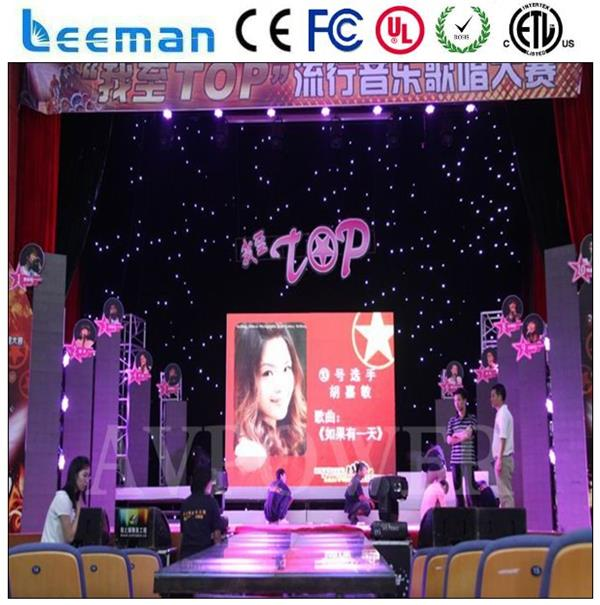 indoor mesh smd3528 stage video wall led curtain screen sign display p10 outdoor