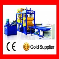 Middle size QT6-15 concrete block making machine with good price