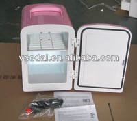 4Litres Lovely portable car cooler 12v mini fridge