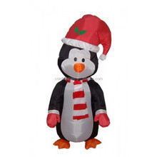led lighting inflatable/4 Foot Blow up Cute Standing Penguin