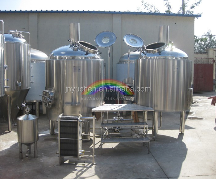 1000L brewing equipment high quality/1000liters beer brewing machine