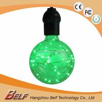 G125 1W E26 E27 LED Light RGB 7 Color Magic Lighting Bulb