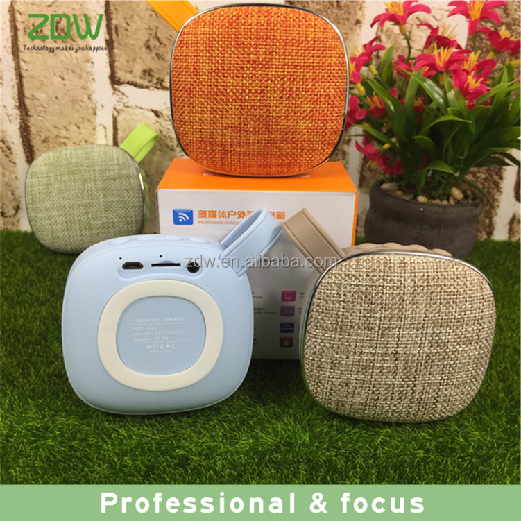 Innovate Products 2017 Gadgets New products Wireless Waterproof Fabric Bluetooth Speakers