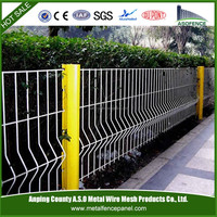 Easily install cheap prefab fence panels / Cheap wrought iron fence panels for sale /PVC fence panel for sale