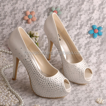 Crystal Stiletto Wedding Shoes for Women