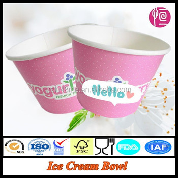 Alibaba China Manufacturer Disposable Ice Cream Cup Salad Bowl ...