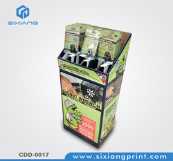 Custom Full Color Printing Cardboard Tools Service Aid Shops Display Stand
